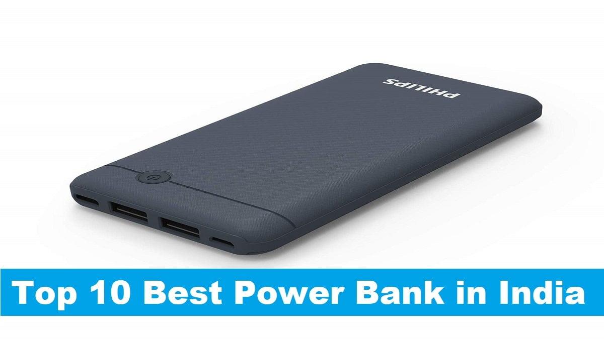 Top 10 Best Power Bank in India in 2020