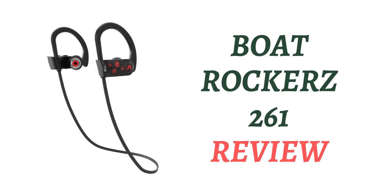BoAt Rockerz 261